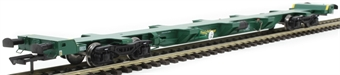 H4-FEAE-001 FEA-E intermodal wagon 641001 in Freightliner green