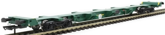 H4-FEAE-002 FEA-E intermodal wagon 641023 in Freightliner green
