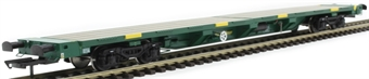 H4-FEAE-005 FEA-E intermodal wagon in Freightliner green with track panel carriers