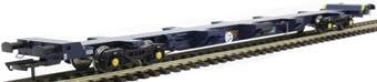 H4-FEAS-002 FEA-S intermodal wagon in GBRf blue
