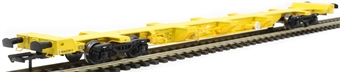 H4-FEAS-007 FEA-S intermodal wagon 640939 in TransPlant yellow