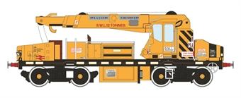 H4-GPC-001 YOB Plasser 12t GPC crane DRP81504 in Plasser/BR yellow as built (1979-1990) £69
