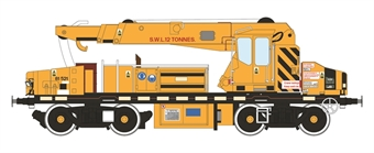 H4-GPC-004 YOB Plasser 12t GPC crane DRP81521 in unbranded yellow (1980-2011)