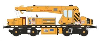 H4-GPC-005 YOB Plasser 12t GPC crane DRP81527 in Jarvis yellow (1999-2011)