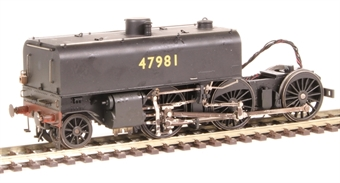 H4-GarrattSpare-Front03 Beyer Garratt front chassis - tested - livery may vary - for replacement of faulty chassis/valve gear - heavily weathered