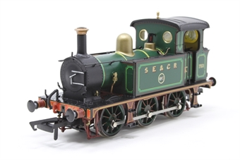 H4-P-002-PO02 SECR P Class 0-6-0T 753 in SE&CR full lined green (with brass) - Open box minor damage to paint on running board on one side