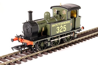 H4-P-004 SECR P Class 0-6-0T A325 in SR lined Maunsell green with Maunsell lettering