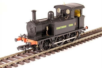 H4-P-006 SECR P Class 0-6-0T 1558 in SR black with sunshine lettering