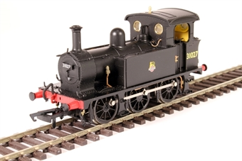 H4-P-007 SECR P Class 0-6-0T 31027 in BR black with early emblem £99