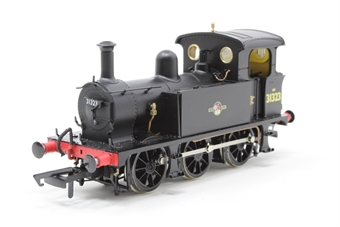 H4-P-008-PO01 SECR P Class 0-6-0T 31323 in BR black with late crest - Open box, Number plate on smoke box door wonky £91