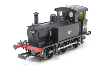 H4-P-008-PO03 SECR P Class 0-6-0T 31323 in BR black with late crest - Pre-owned - missing coupling hook