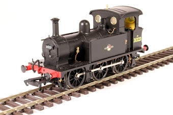 H4-P-008 SECR P Class 0-6-0T 31323 in BR black with late crest