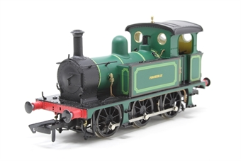 "H4-P-009-PO SECR P Class 0-6-0T ""Pioneer II"" in Bowaters Paper Mill green - Pre-owned - Noisy runner"