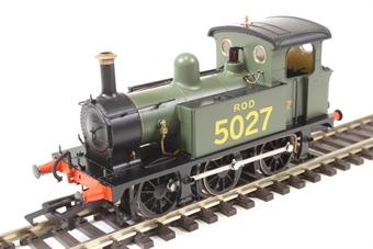 H4-P-013 SECR P Class 0-6-0T 5027 in ROD green