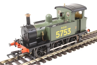 H4-P-014 SECR P Class 0-6-0T 5753 in ROD green