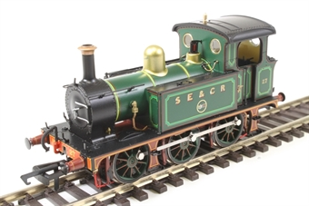H4-P-015 SECR P Class 0-6-0T 27 in SE&CR full lined green (with polished brass) £99
