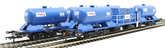 H4-RHTT-002 Rail Head Treatment Train 'Water Jet' with 2 wagons and water jetting modules