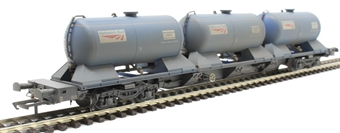 H4-RHTT-006 Rail Head Treatment Train 'Water' wagon with 3 water modules to extend either RHTT pack to 3 wagons - weathered £63
