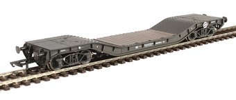 H4-WW-002 Warwell wagon 50t with diamond frame bogies WW.55 in WD livery (LMS) £33