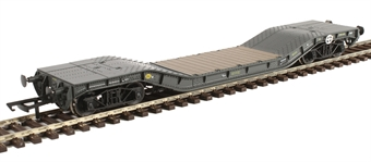 H4-WW-004 Warwell wagon 50t with diamond frame bogies MODA95560 in MOD 1970s olive