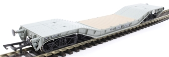 H4-WW-006A Warwell wagon 50t with diamond frame bogies M360337 in BR grey