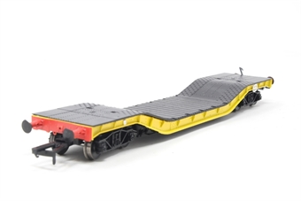 H4-WW-013-PO03 Warwell wagon 50t with diamond frame bogies ADRW96501 in BR engineers yellow - Pre-owned - Like new