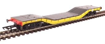 H4-WW-013 Warwell wagon 50t with diamond frame bogies ADRW96501 in BR engineers yellow £33