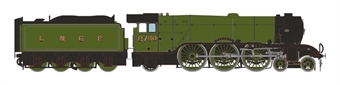 "H7-A3-001 Class A3 4-6-2 2750 ""Papyrus"" in LNER Grass green with unstreamlined corridor tender - ""Record Breaker"""