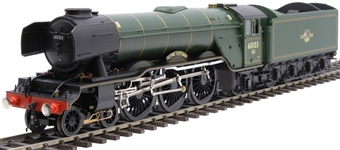 "H7-A3-007 Class A3 4-6-2 60103 ""Flying Scotsman"" in BR green with late crest and unstreamlined corridor tender"