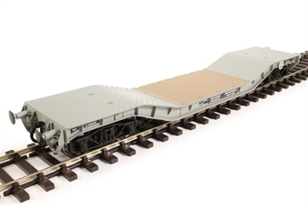 H7-WW-705 Warwell wagon 50t with diamond frame bogies M360333 in BR grey