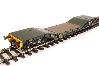 H7-WW-710 Warwell wagon 50t with Gloucester GPS bogies MODA95536 in MOD 2000s olive £85