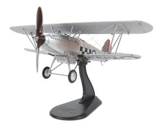 HA8001B Hawker Fury I Sqn Leader R H Hamner