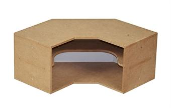 HZ-OM04 Modular Organizer corner shelves module - flat-pack kit
