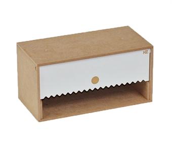 HZ-OM08A Modular Organizer paper towel module - flat-pack kit