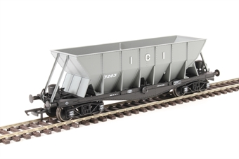 ICI001A ICI Hopper wagon 3203 in mid grey body with black underframes and bogies. 1936 - 1950s £24