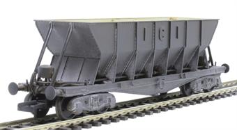 ICI003DW ICI Hopper wagon 3299 in battleship grey body, underframes & bogies - weathered. 1950s - 1973