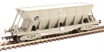 ICI006A ICI Hopper wagon 19072 in battleship grey body, underframes & bogies with PHV TOPS panel (black backing, no ICI lettering). 1992 - 1997