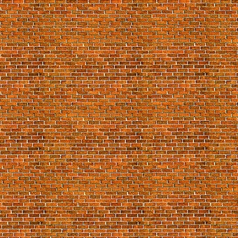 ID-BM007 Self-adhesive building papers - Traditional brick - Pack of ten A4 sheets