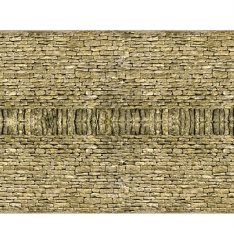 ID-BM025 Self-adhesive building papers - Dry stone walling - Pack of ten A4 sheets