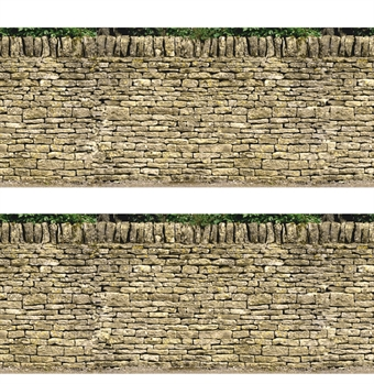 ID-BM026 Self-adhesive building papers - Dry stone walling - Pack of ten A4 sheets