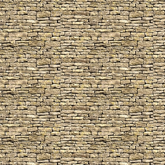 ID-BM029 Self-adhesive building papers - York stone - Pack of ten A4 sheets