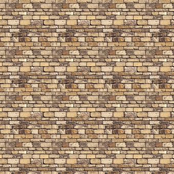 ID-BM044 Self-adhesive building papers - Stone blocks - Pack of ten A4 sheets