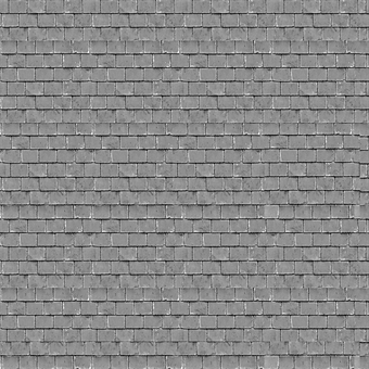 ID-BM062 Self-adhesive building papers - Grey roof tiles - Pack of ten A4 sheets