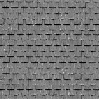 ID-BM064 Self-adhesive building papers - Grey slates - Pack of ten A4 sheets