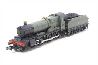 INS7808-PO01 Cookham Manor GWR unlined shirtbutton green - Pre-owned - Slow runner, minor damage to valve gear