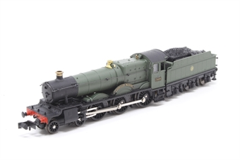 INS7808-PO Cookham Manor GWR unlined shirtbutton green - Pre-owned - Imperfect box