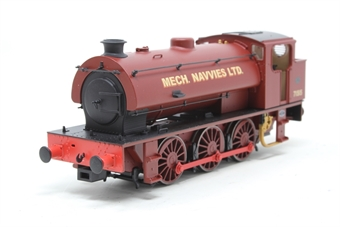 J9402-PO01 Austerity 0-6-0ST 71515 in Mech Navvies maroon - Limited Edition of 200 - Pre-owned - Like new