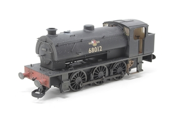 J9403-PO Class J94 0-6-0ST 68012 in BR black with late crest - lightly weathered - Limited Edition of 250 - Pre-owned - DCC fitted