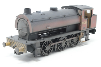J9404-PO Austerity 0-6-0ST 1763 in NCB Peckfield Colliery lined maroon with chevrons - very heavily weathered - Limited Edition of 200 - Open box