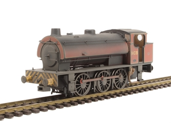 J9404 Austerity 0-6-0ST 1763 in NCB Peckfield Colliery lined maroon with chevrons - very heavily weathered - Limited Edition of 200 £99